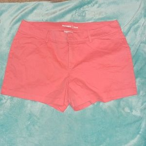 Old Navy pixie shorts size 8 regular, pink